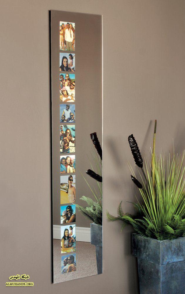 30 - Specchio con lampade intorno ...