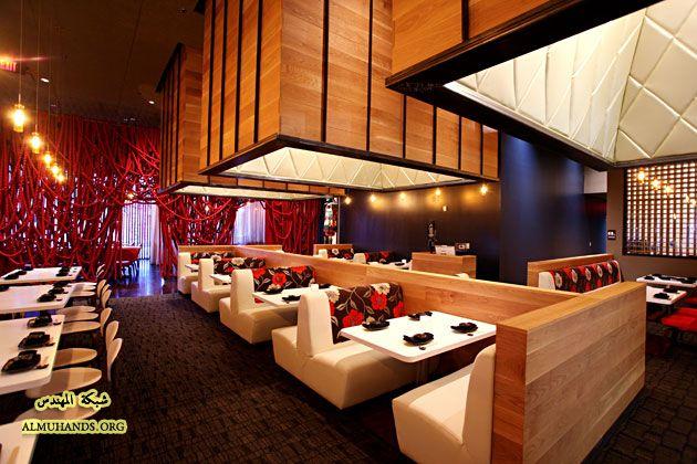 تصميم حديث لمطعم اسيوي منتديات شبكة المهندس